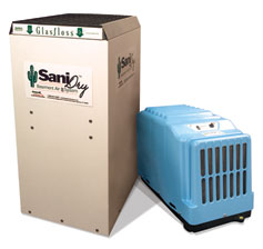 SaniDry Basement Dehumidifiers Minnesota