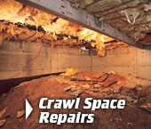 Crawl Space Repair In Greater Minneapolis