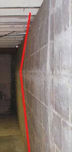 Basement Wall Buckling MN
