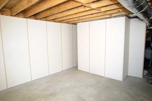 ZenWall walls for basement finishing Minnesota